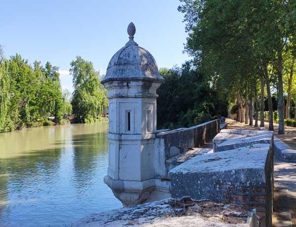 Vista Del Río desde los Jardines de Aranjuez