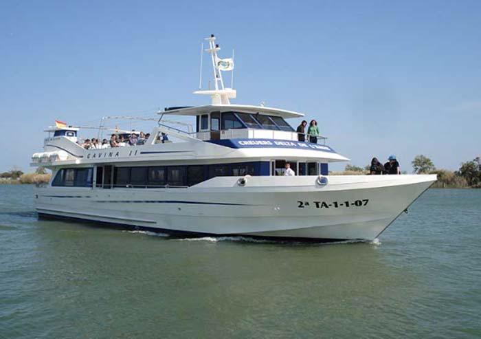 Excursiones en barco en el Delta del Ebro