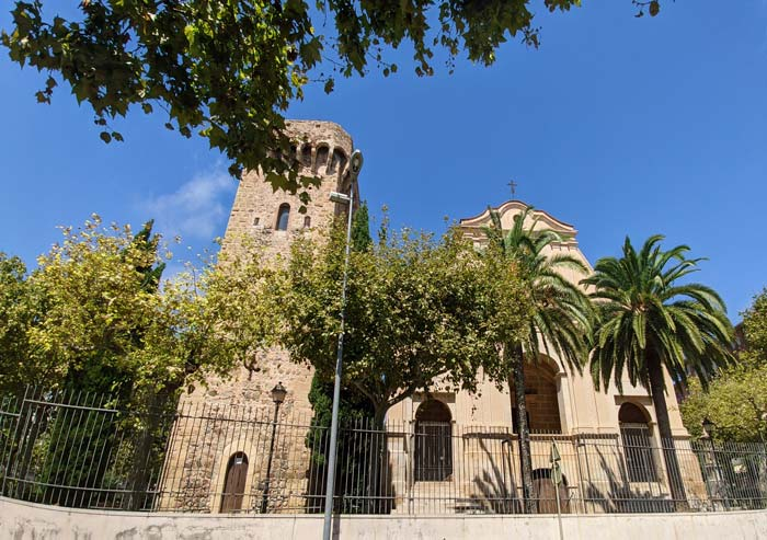 Torre de la Ermita de la Mare de Deu del Camí en Cambrils