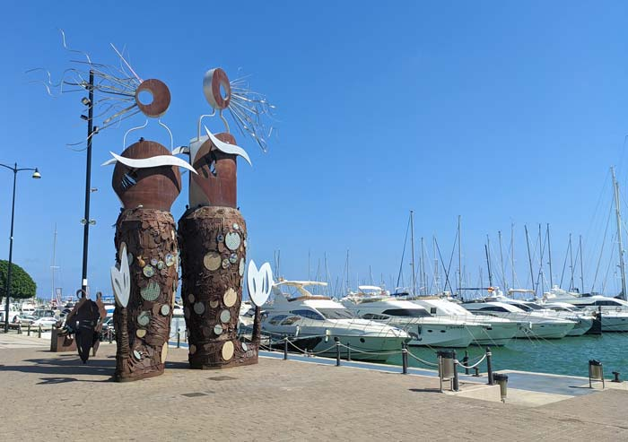 Monumento al mar en Cambrils