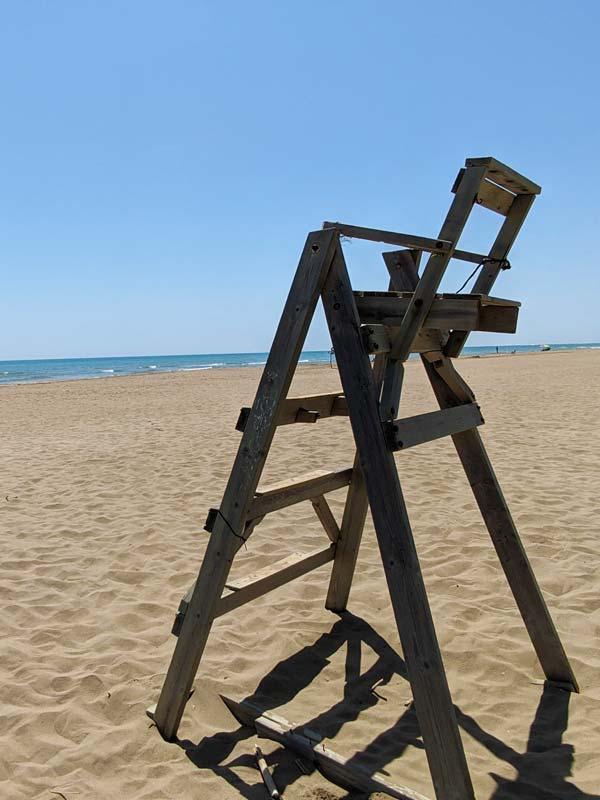 Playa Eucaliptos, Delta del Ebro