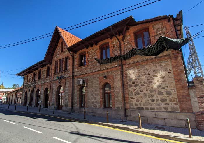 Estación de trenes de Cercedilla