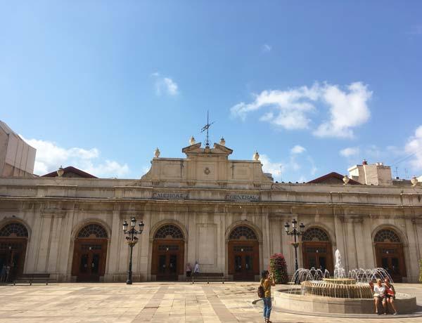Fachada principal mercado de Castellón