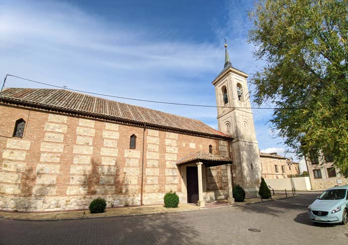 Iglesia de San Juan Bautista, en Talamanca de Jarama