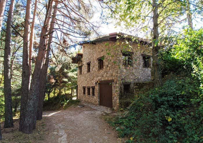 Casa y bosque en Cercedilla