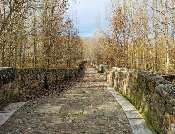 Vista del Puente Romano de Talamanca de Jarama