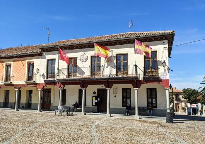Edificio de la antigua casa del concejo en Navalcarnero