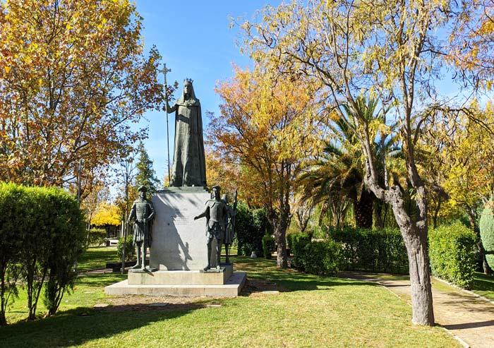 Estatuas en Parque Histórico de Navalcarnero