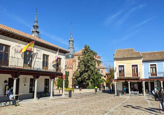 Plaza de Segovia en Navalcarnero