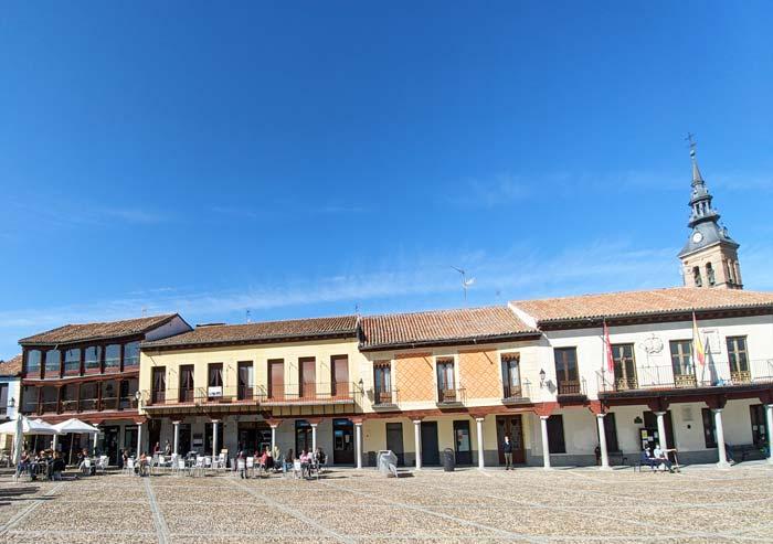 Soportales en la Plaza de Segovia, Navalcarnero