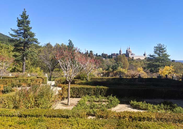 Jardines de la Casita del Infante en San Lorenzo del Escorial