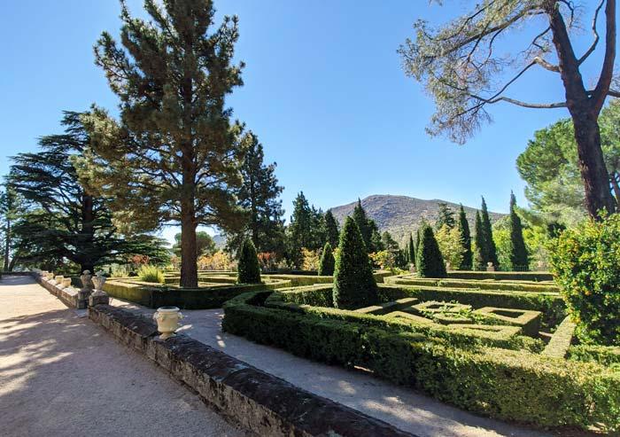Jardines en San Lorenzo del Escorial