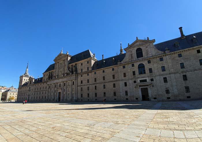 Fachada del Monasterio de San Lorenzo del Escorial