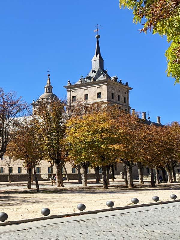 Vista del Monasterio de San Lorenzo del Escorial