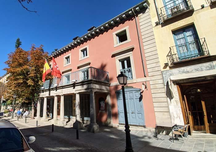 Teatro Carlos III San Lorenzo del Escorial