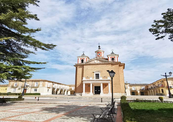 Iglesia del Cortijo de San Isidro