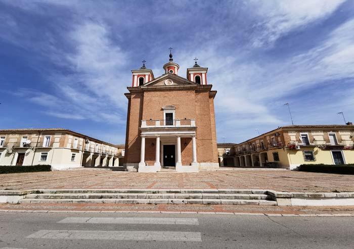 Iglesia de El Cortijo de San Isidro