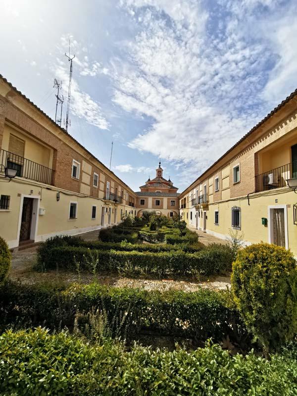 Pueblo de El Cortijo de San Isidro