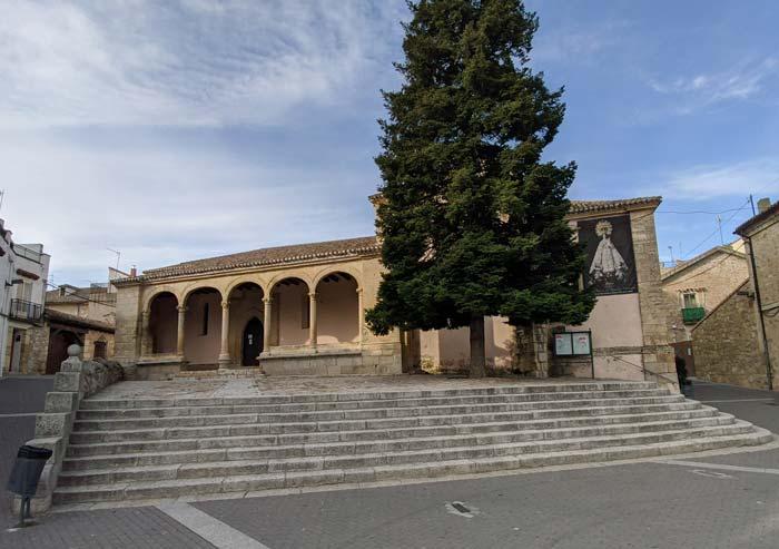 Vista de la Iglesia de la Asunción de Nuestra Señora, en El Molar