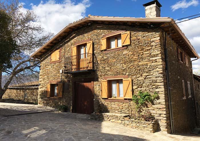 Casas de arquitectura en La Hiruela