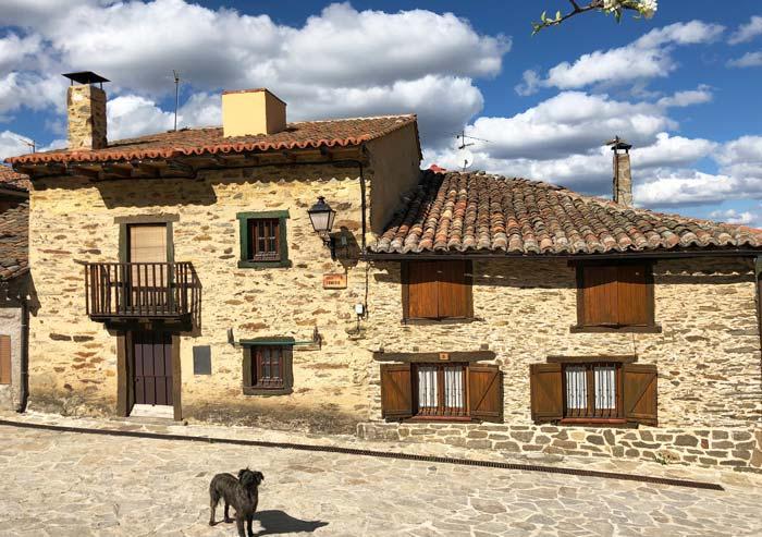 Casco Antiguo de La Hiruela, Madrid