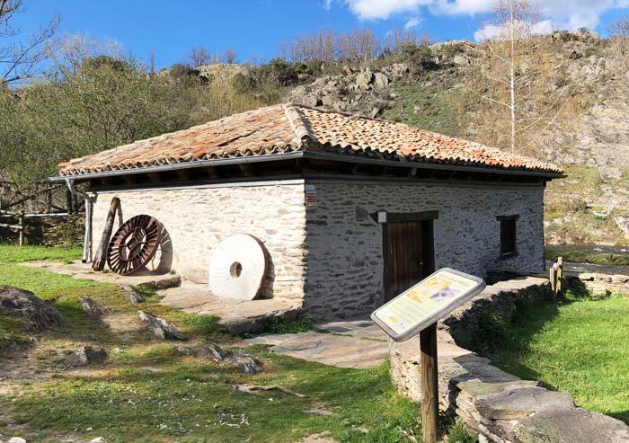Molino harinero de La Hiruela