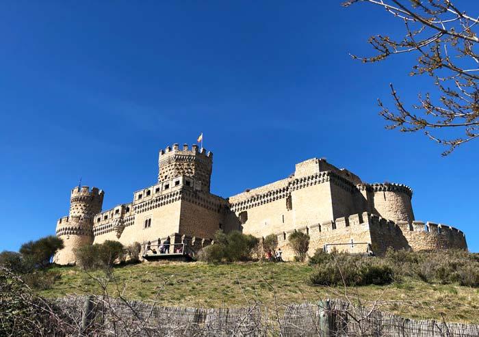 Castillo de los Mendoza, en Manzanares el Real