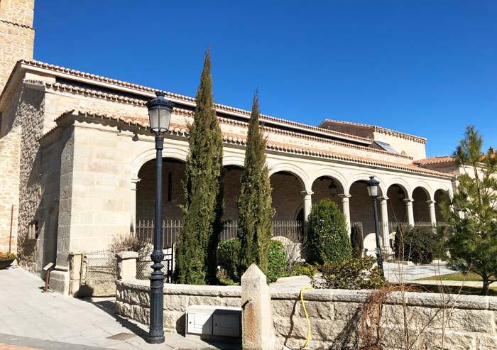 Iglesia de Nuestra Señora de las Nieves, en Manzanares el Real