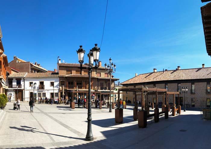 Plaza del Pueblo en Manzanares el Real