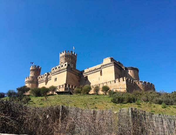 Panorámica del Castillo Nuevo de Manzanares el Real, Madrid