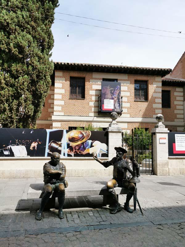 Casa Museo Natal de Cervantes, en Alcalá de Henares