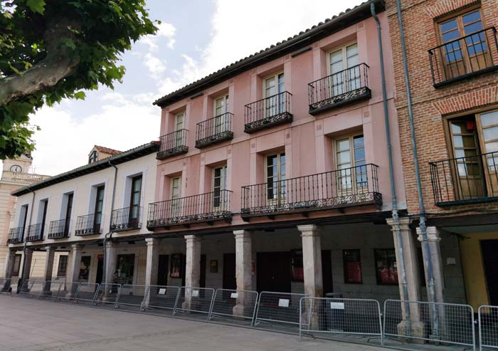 Corral de Comedias, en Alcalá de Henares