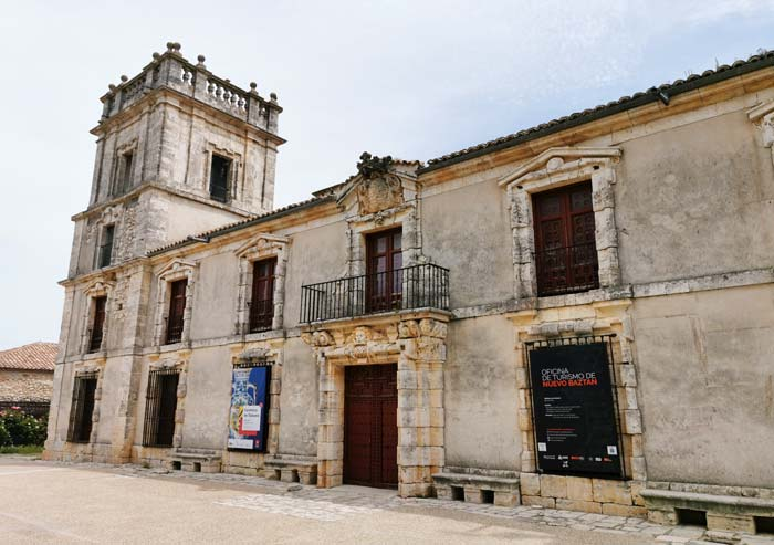 Fachada Palacio de Goyeneche en Nuevo Baztán