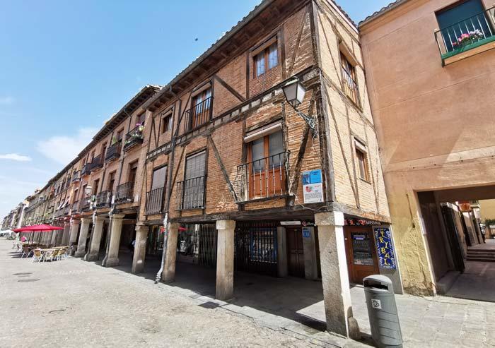 Casas de la Calle Mayor de Alcalá