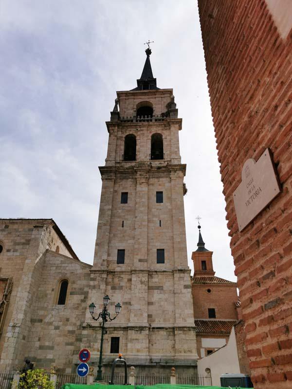 Torre de la Catedral Magistral de Alcalá de Henares