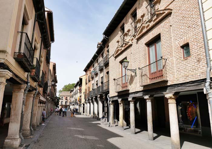 Vista de la Calle Mayor de Alcalá