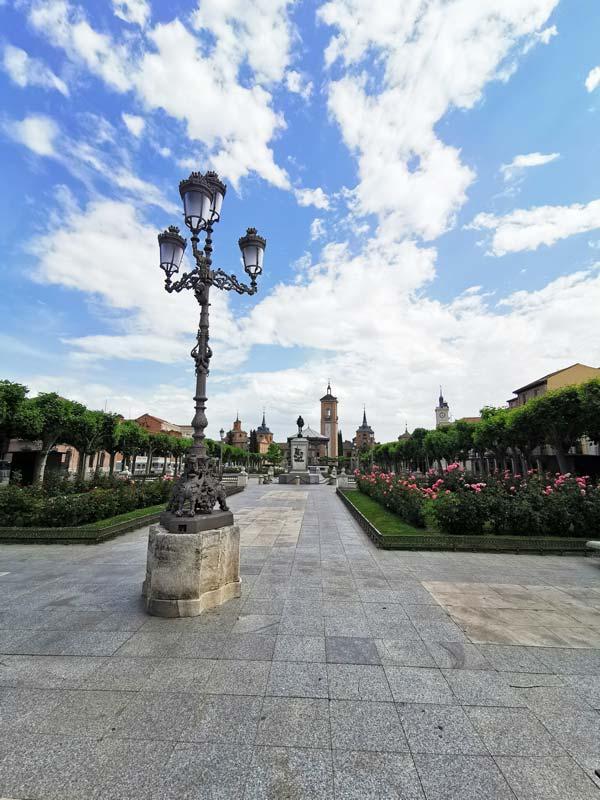 Vista de la Plaza de Cervantes, Alcalá de Henares