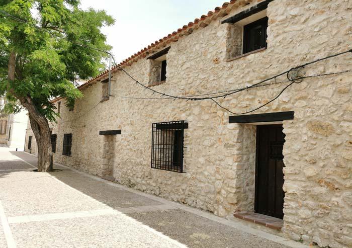 Casas de piedra en Nuevo Baztán