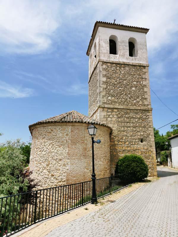 Torre de la Iglesia de Olmeda de las Fuentes
