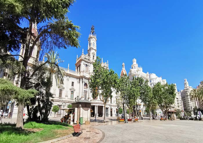 Edificio del Ayuntamiento de Valencia