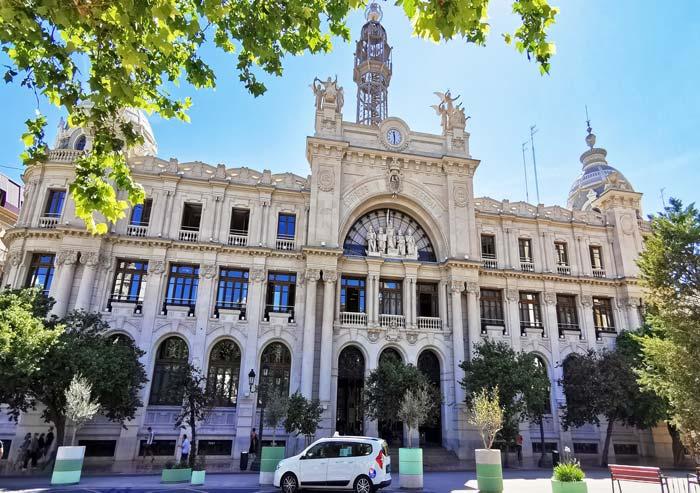 Palacio de comunicaciones y Correos de Valencia