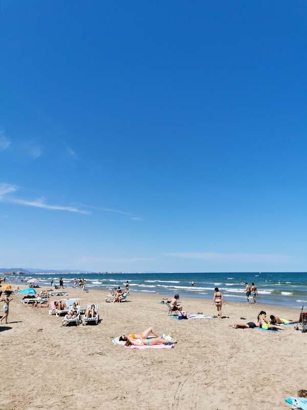 Playas de Valencia ciudad