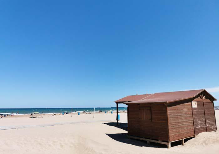 Playas en Valencia ciudad
